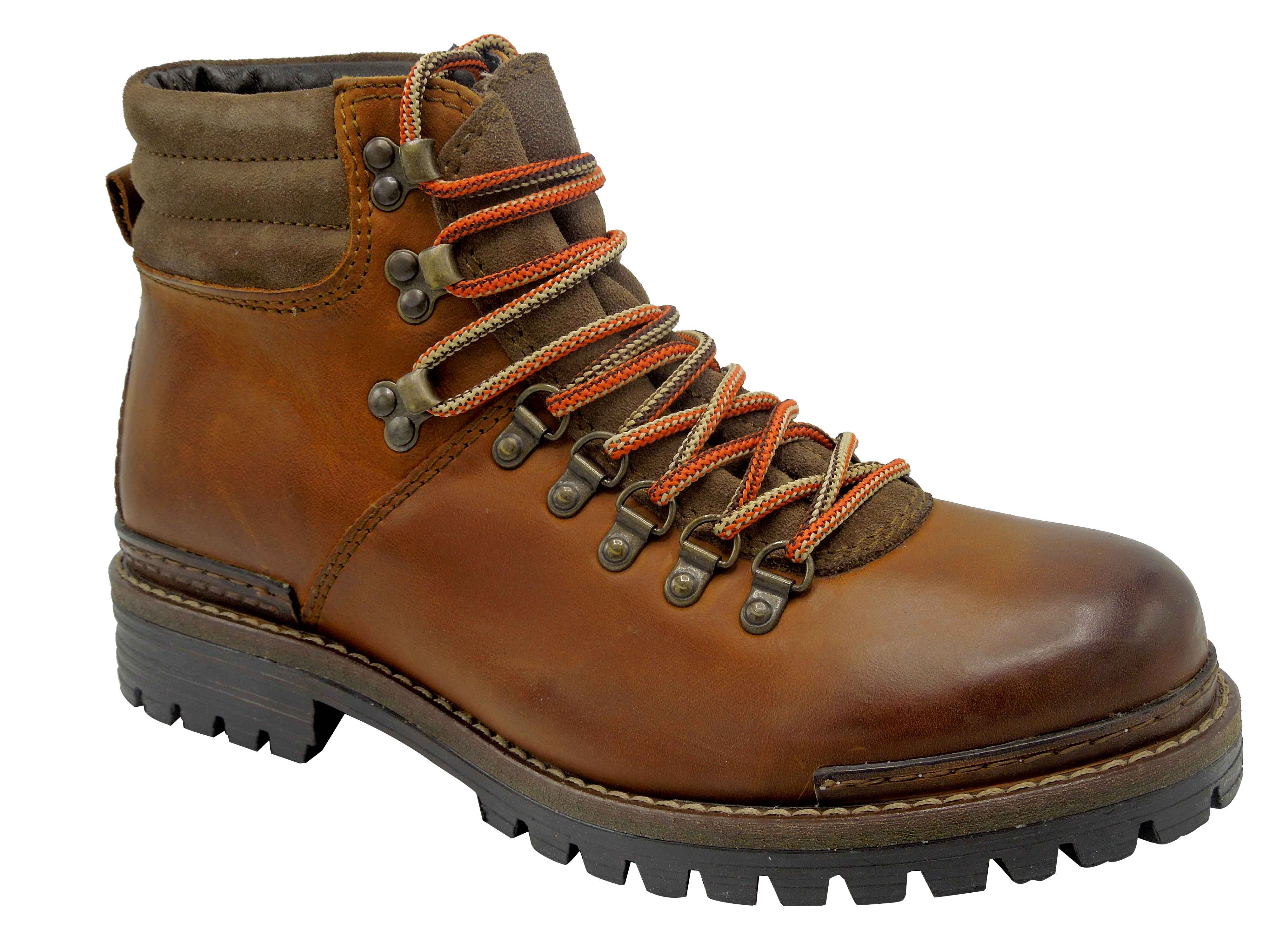 77e12600449 Pánské zimní boty Klondike MH-108H01 hnědá