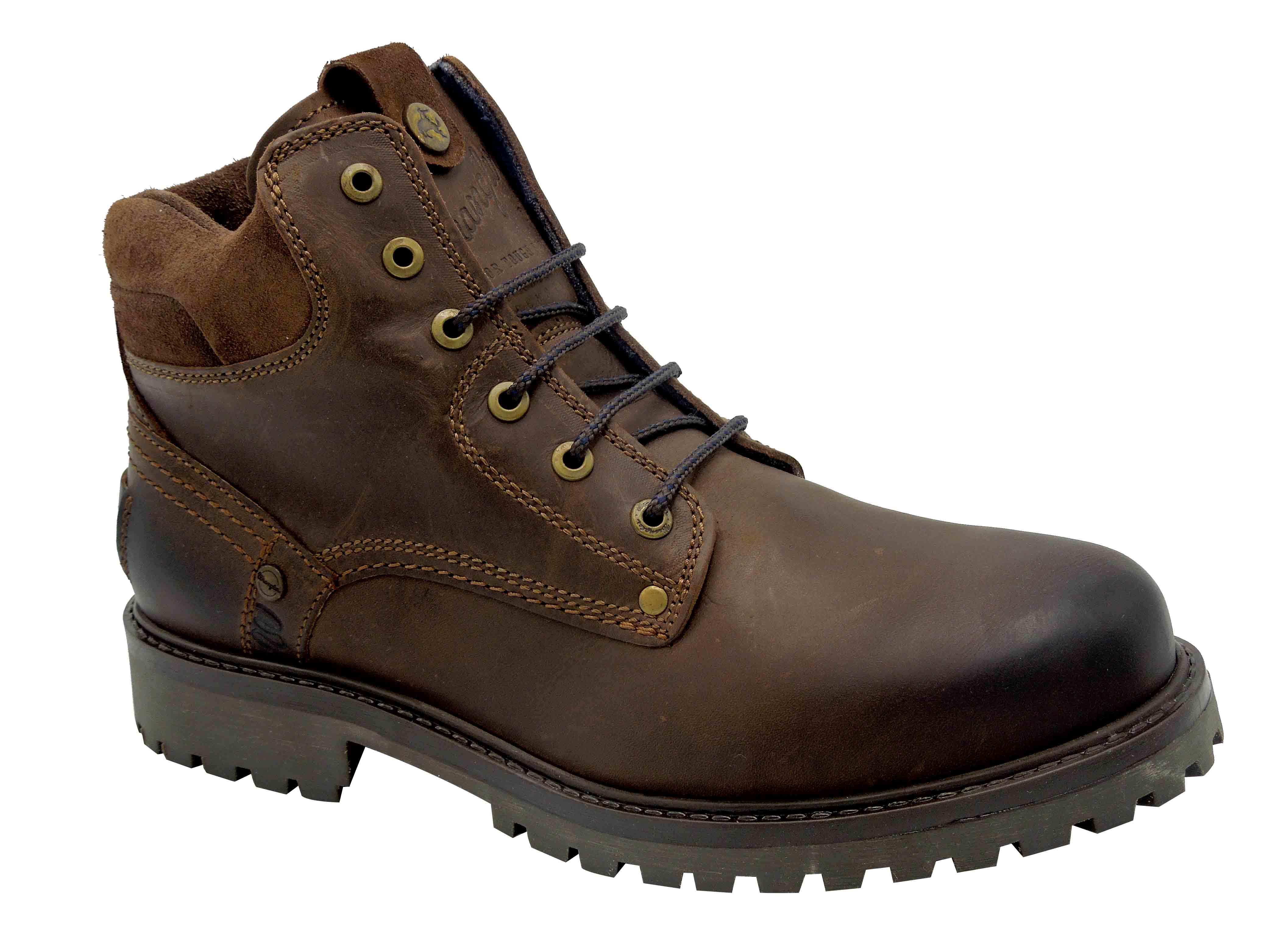969d183a942 Pánské kotníkové boty Wrangler WM172001 hnědá
