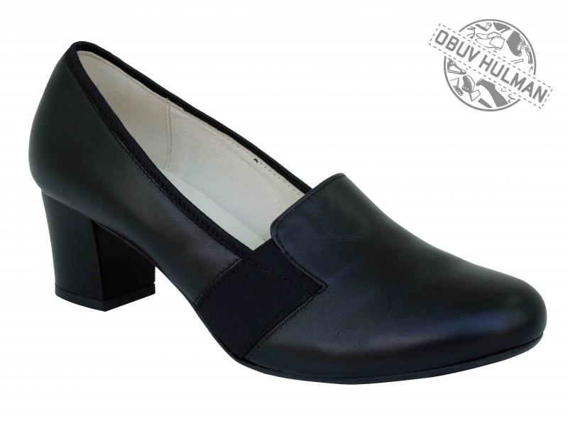 Dámské boty z pravé lícové kůže. Obuv Hulman. de2d7ba047