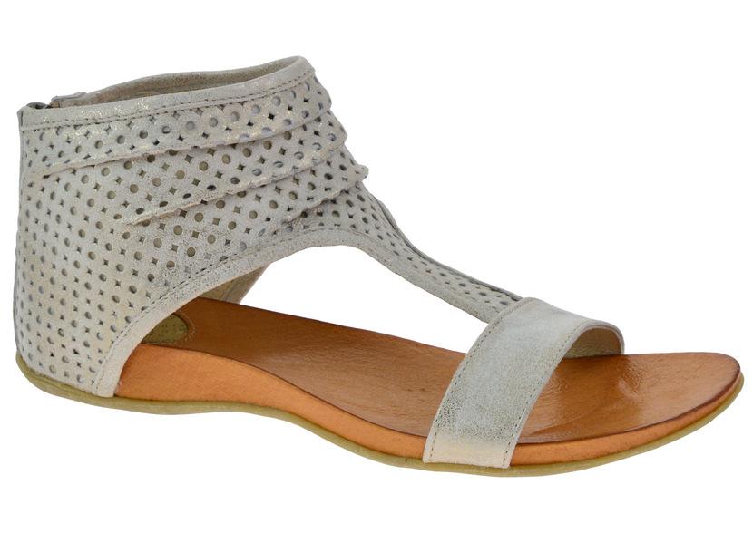 Dámské sandály Carinii C2125 zlatá b4eadfd8cb