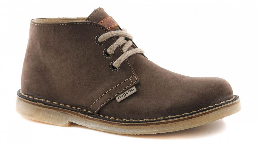 Dámské kotníkové boty Nagaba N082 hnědá eeaab07fa9