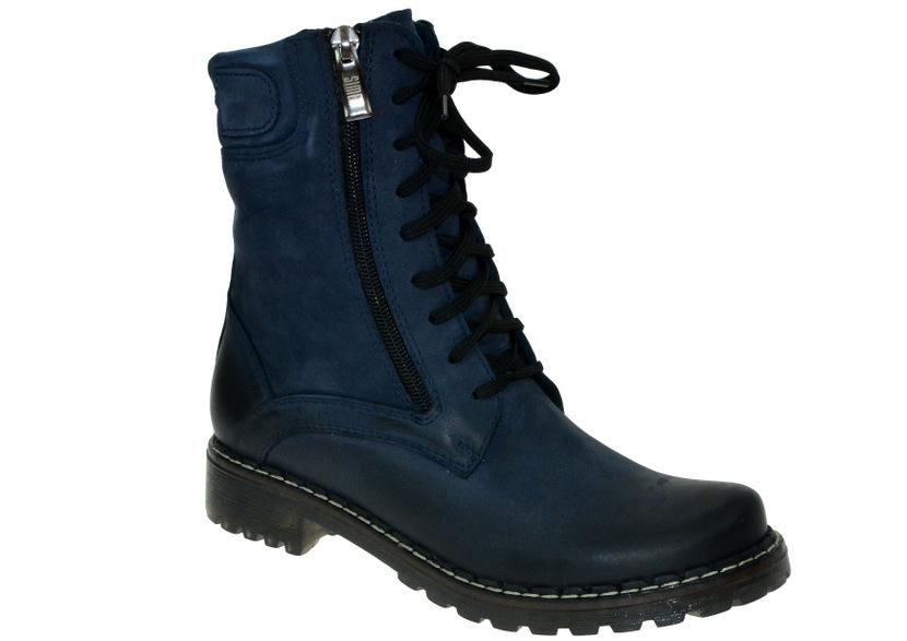 a58b917062 Dámské zimní boty S8237 modrá