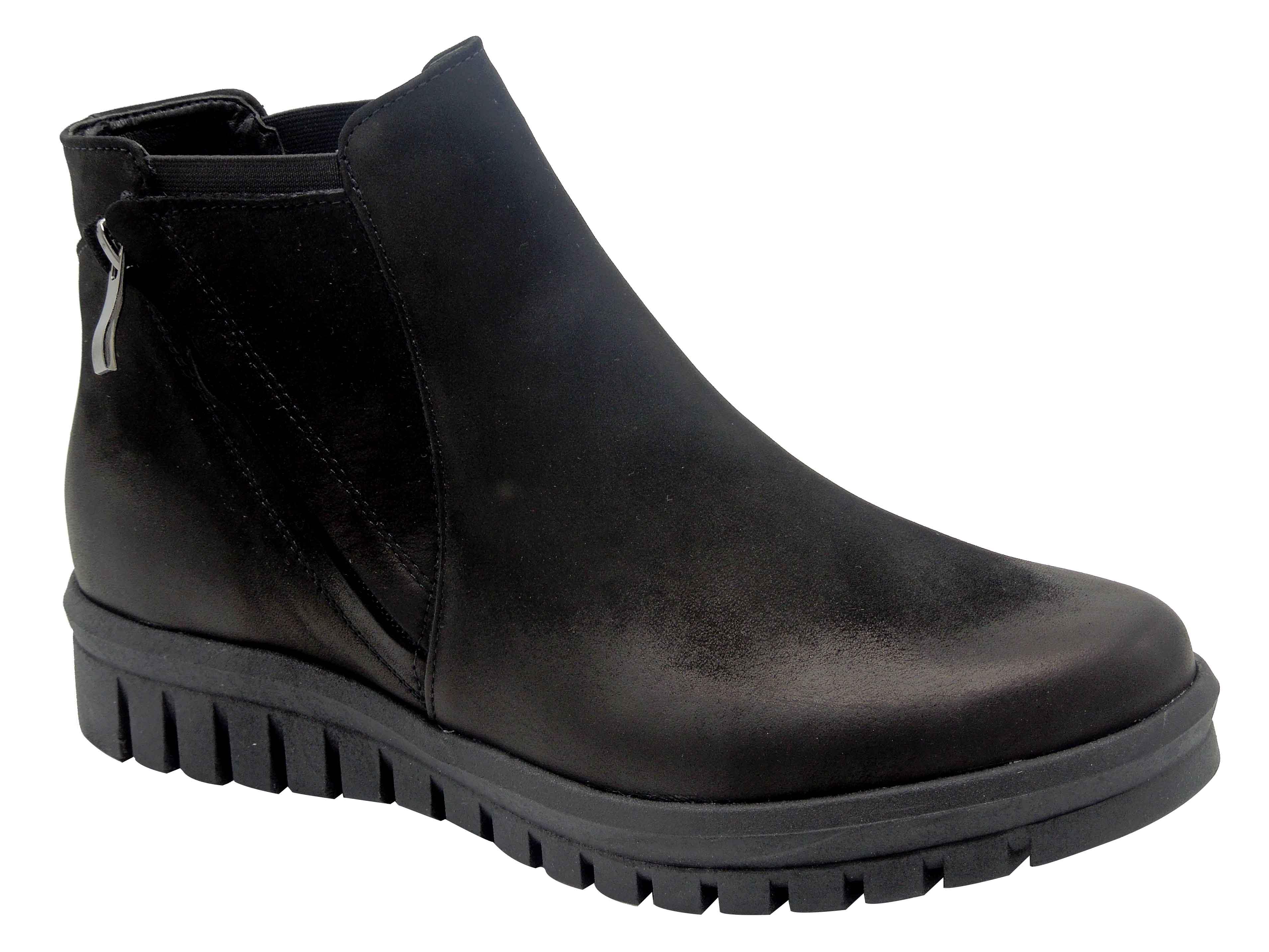 b627d8e74906 Dámská kotníková obuv zimní HJ3880 černá.
