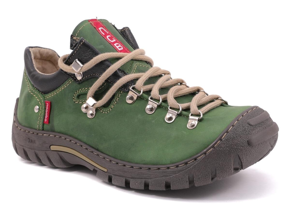 e673bcb27f9 Pánské boty Nagaba N055 zelená