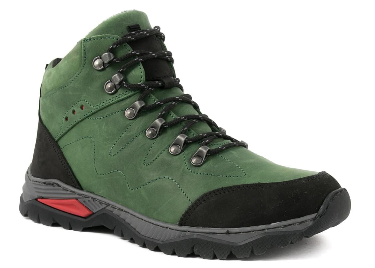 4d5cea29db4 Pánské zimní boty Nagaba NGB409 zelená