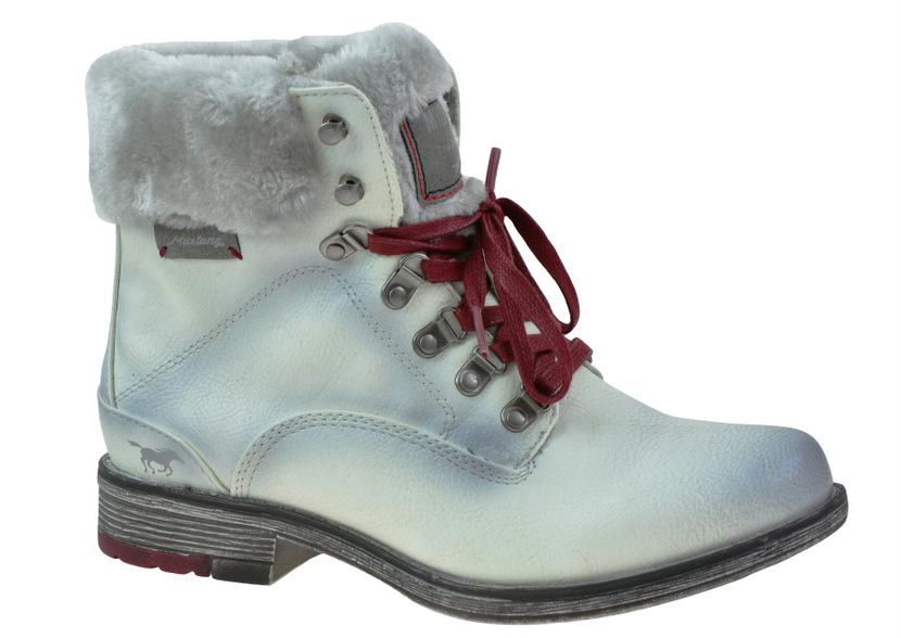 Dámské zimní kotníkové boty Mustang M43C088. 4ad7f763b4