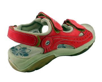 Dámské sandále Orion 688 červená - 5