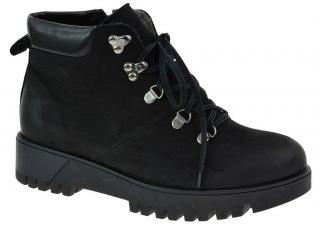 Dámské zimní boty s kožíškem L60073 černá empty 47956b3d28