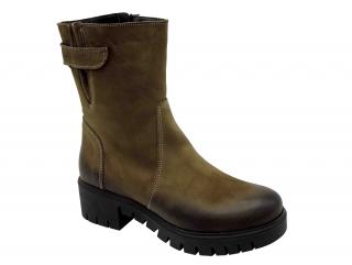 af56a51fa6f Dámské zimní boty Hujo HJ3320 zelené empty