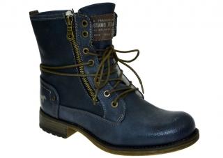 Dámské zimní boty Mustang M39C082 modrá empty ec998173b6