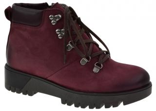 Dámské zimní boty s kožíškem L60073 bordo empty fbecf9e59c