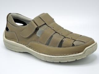 Pánské letní boty Klondike Tweet 03U béžová empty 128472ec88