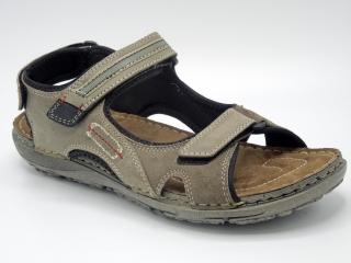 Pánské sandály Klondike 727257 šedá empty 0a98f282a5