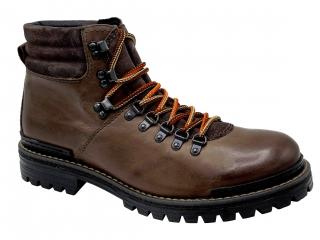 1f178d79f65 Pánské zimní boty Klondike MH-108H01 tmavě hnědá empty