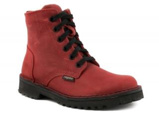 Dámské kotníkové boty Nagaba N094 červená empty bebcbbb0b9