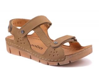 527762ad3875 Dámská letní obuv Nagaba N306 béžová empty